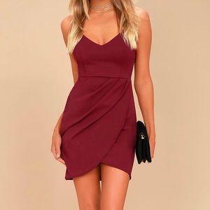 Lulu's Forever Your Girl Plum Purple Bodycon Dress